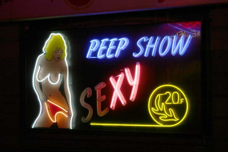 peep show, sexy, night, liège, photo dominique houcmant goldo