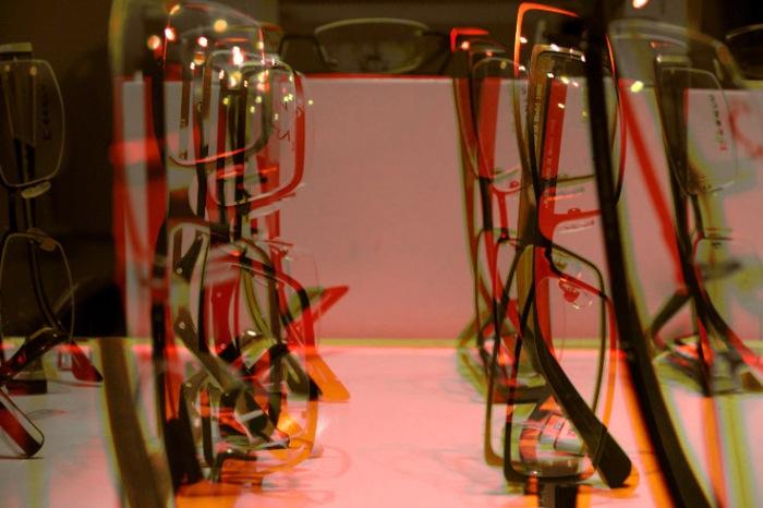 pict, lunettes, vitrine, photo dominique houcmant aka goldo graphisme