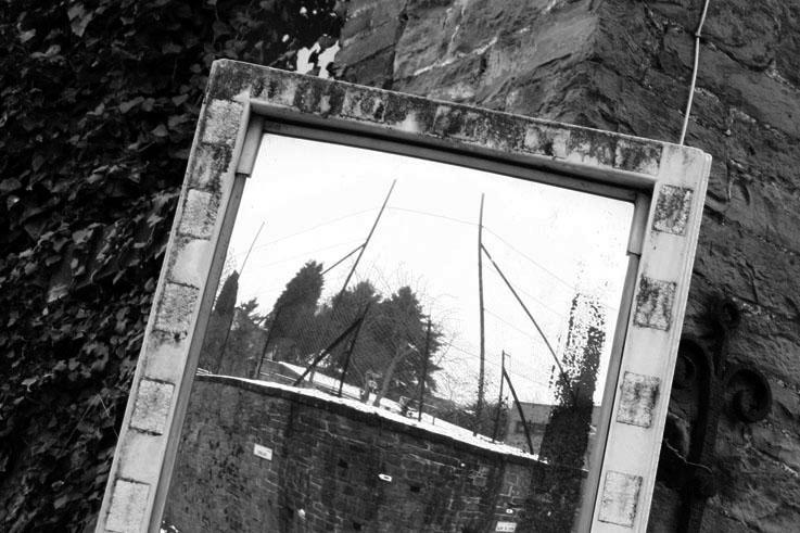 la miroir, carrefour, photo dominique houcmant, goldo graphisme