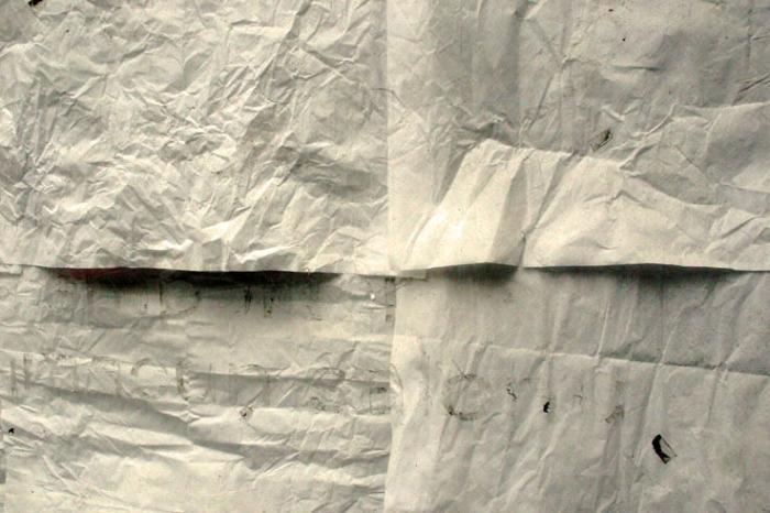 vitrine, papiers collés, photo dominique houcmant, goldo graphisme