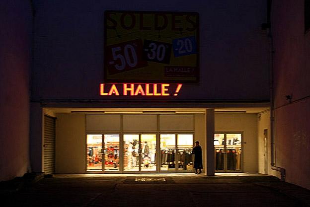 magasin la halle, charleville mezière, photo dominique houcmant, goldo graphisme