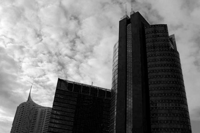 photo architecture donau city, onu, Vienne, Vienna, Wien, photo dominique houcmant, goldo graphisme