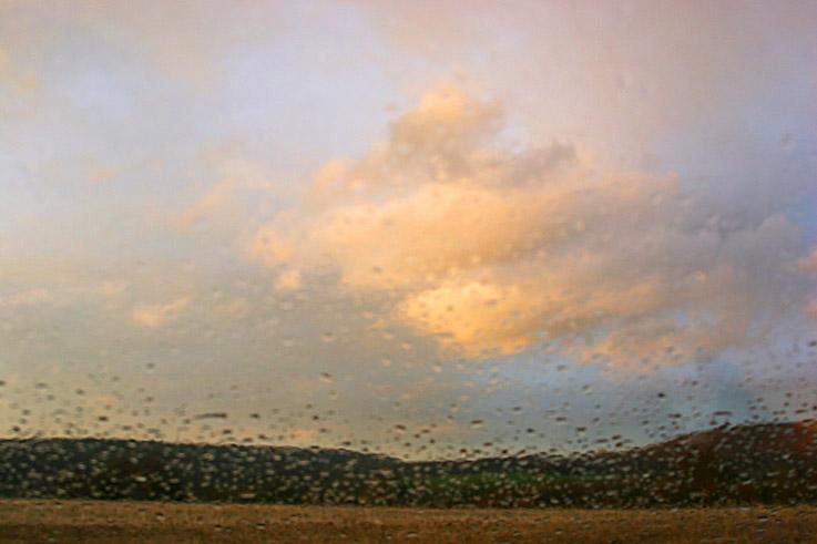 photo de strivay-neupré, ciel rose, pluie, belgique, photo dominique houcmant, goldo graphisme