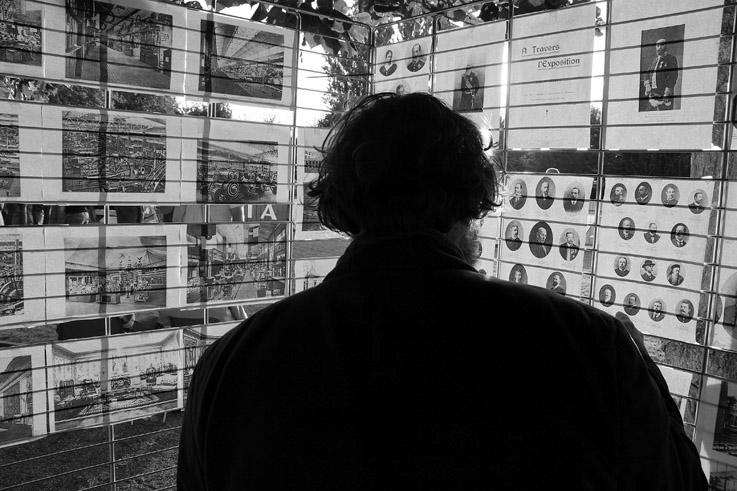 exposition dans le parc du château de Peralta à Angleur dans le cadre des fêtes de wallonie et des journées du patrimoine, photo dominique houcmant, goldo graphisme