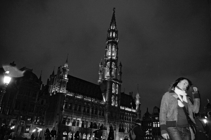 Grand-Place de Bruxelles et l'Hôtel de Ville, Grote Markt (stadhuis), Brussel, Brussels, image de bruxelles photo dominique houcmant, goldo graphisme