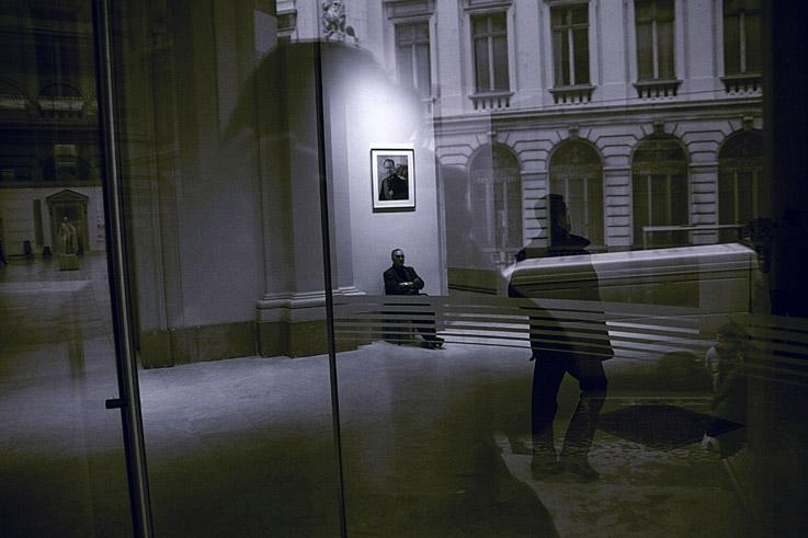 Musées royaux des Beaux-Arts - Bruxelles, photo dominique houcmant, goldo graphisme