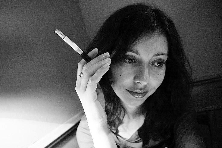 fume-cigarette, cigarette holder, Zigarettenspitze, goldo graphisme
