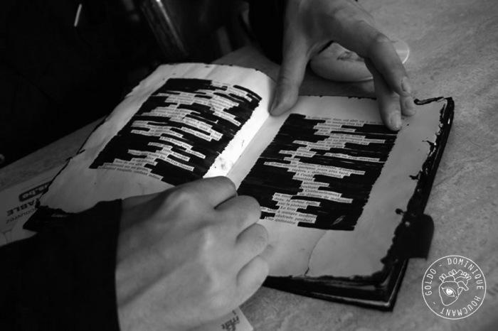 le livre du poète Philippe Grandhenry, goldo dominique Houcmant