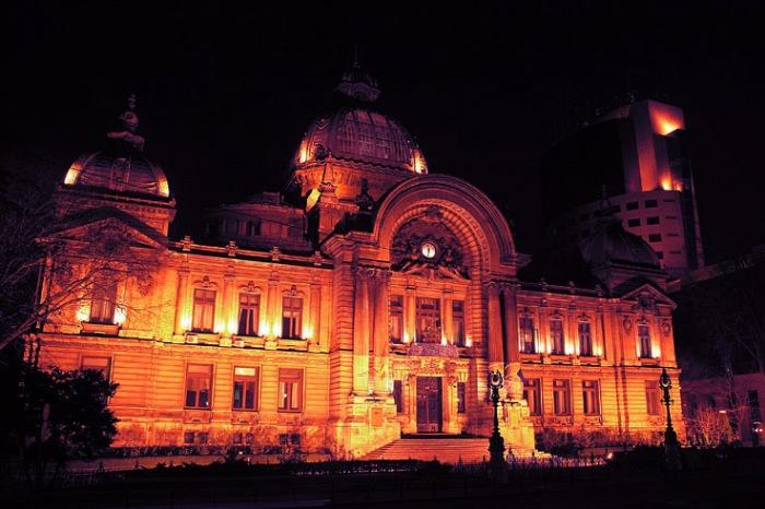 Palatul CEC Bucuresti, Romania, Palais CEC Bucarest Roumanie, CEC Palace Bucharest fotografie, photo dominique houcmant