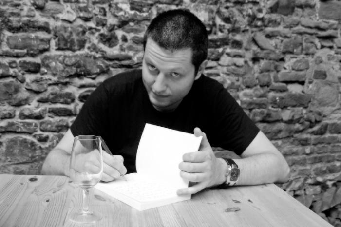 Nicolas Ancion, écrivain, portrait, photo dominique houcmant
