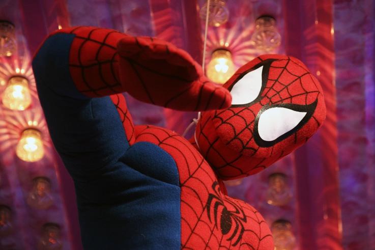 Spiderman, l'Homme Araignée, photo dominique houcmant