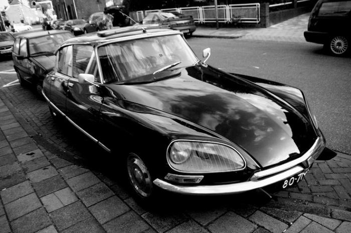 citroen DS 21 noire, injection électronique, classic car, photo dominique houcmant