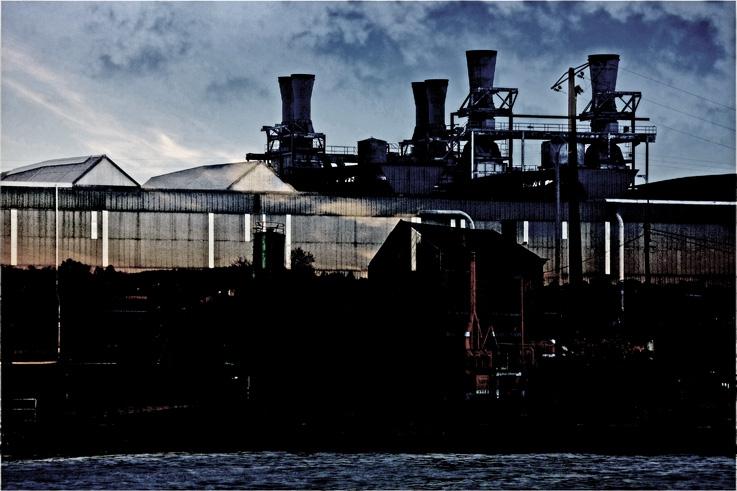 usine, chertal, cockerill, canal Albert, Wandre, Vivegnis, photo dominique houcmant