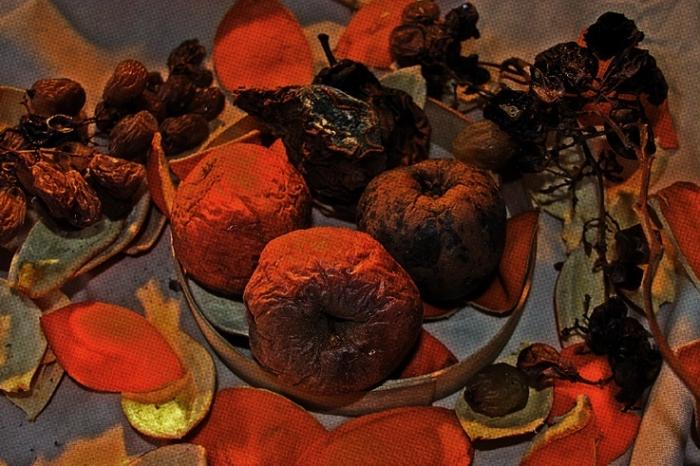 nature morte aux fruits, salade de fruits, © photo dominique houcmant