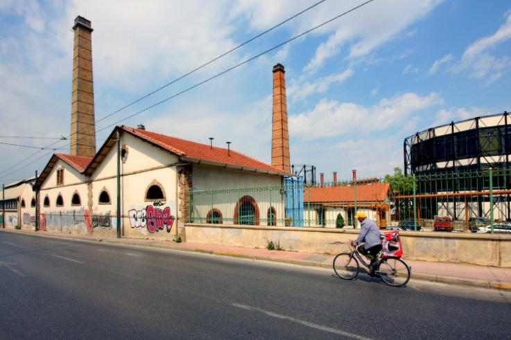 Technopolis, Gazi, Athènes, Grèce, Athens, Greece, © photo dominique houcmant
