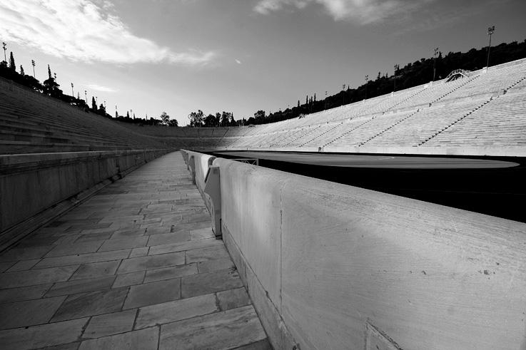 stade olympique, panathénaïque, Panathinaïko Stadio, Kallimarmaro, Athènes, Grèce, olympic stadium, Athens, Greece, © photo dominique houcmant