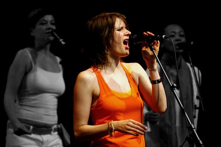 Camille, Music Hole Tour, festival les ardentes Liège, foto, photo dominique houcmant, goldo graphisme