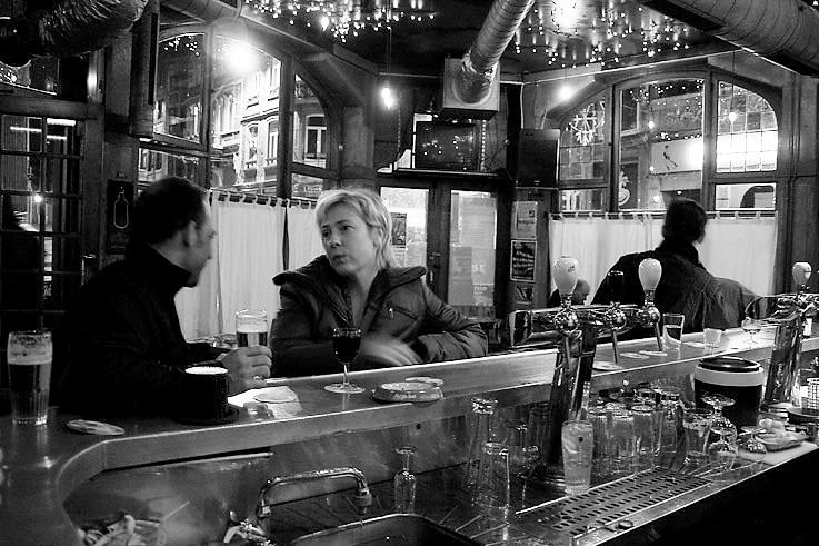 café, bistrot, comptoir, Casa Ponton, Liège, foto, photo dominique houcmant, goldo graphisme