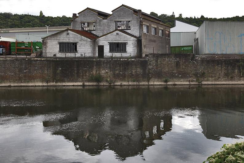 ateliers, usine, Chênée, bord de l'Ourthe, workshop, factory floor, © photo dominique houcmant