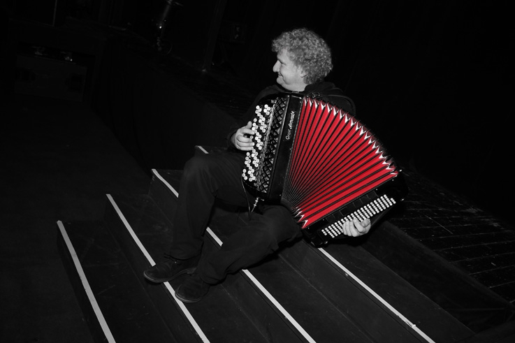 Maurice Blanchy, accordéoniste, accordeon, © photo dominique houcmant