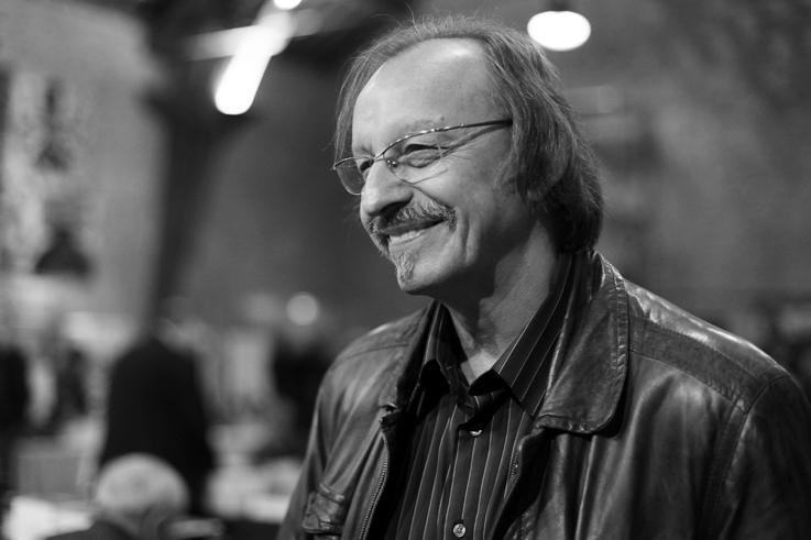 Didier Daeninckx, portrait, écrivain polar, Festival de Roissy-en-Brie, © photo dominique houcmant