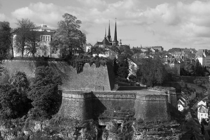 les remparts de la vieille ville de Luxembourg, ramparts, city, panorama, © photo dominique houcmant