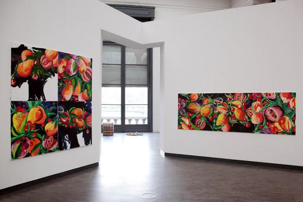 exposition du peintre Alain Denis, MAMAC, Liège, Belgique, photo