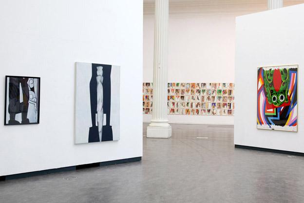 exposition du peintre Alain Denis, MAMAC, Liège, Belgique
