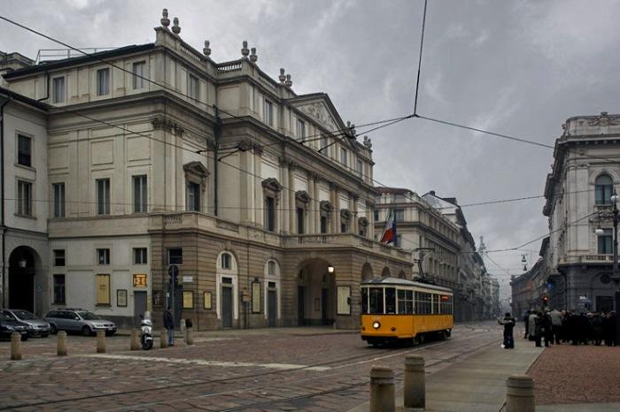 Teatro alla Scala di Milano, Milan, Italia, Italie, Italy, opéra, théâtre, © photo dominique houcmant