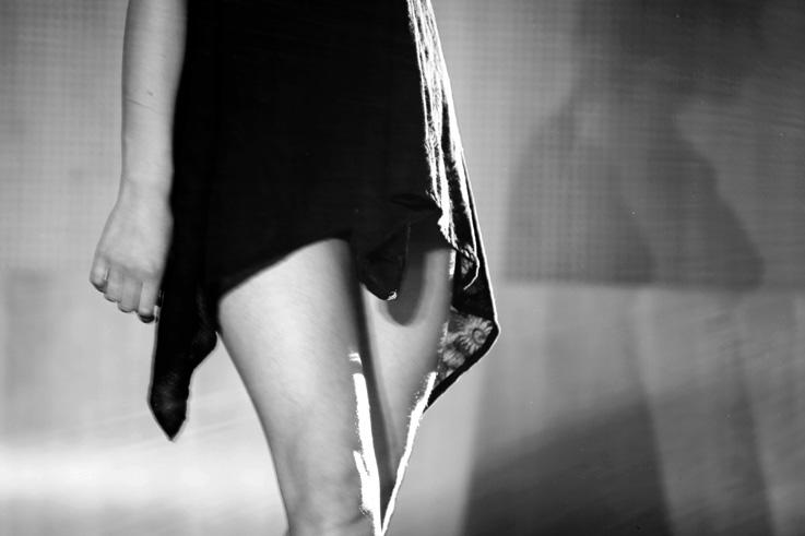 défilé de lingerie, lingerie fashion show, femme, woman, © photo dominique houcmant