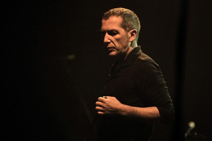 Christophe Miossec, concert, live, portrait, chanson française, caserne Fonck, les Ardentes Club, Liège, © photo dominique houcmant