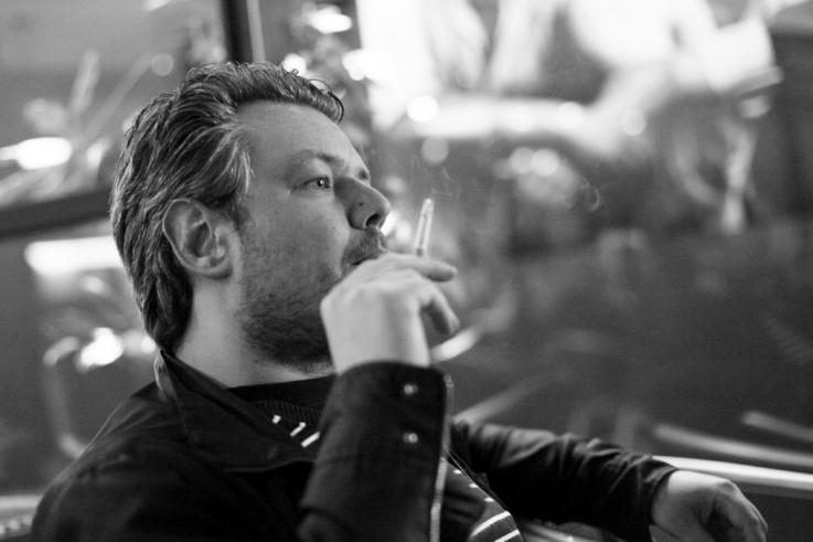 Raf Keunen, cinéma, compositeur, musique de film, portrait, rundskop, tête de bœuf, Liège, photo dominique houcmant, goldo graphisme