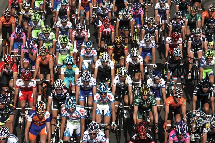 peloton, cyclisme, Liège-Bastogne-Liège 2011, coureurs, © photo dominique houcmant