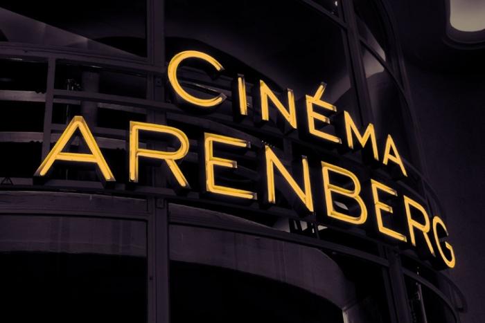 cinéma arenberg, bruxelles galerie de la reine, photo dominique houcmant, goldo graphisme