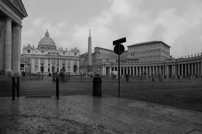 Piazza San Pietro, roma italia, Place Saint-Pierre, photo dominique houcmant, goldo graphisme