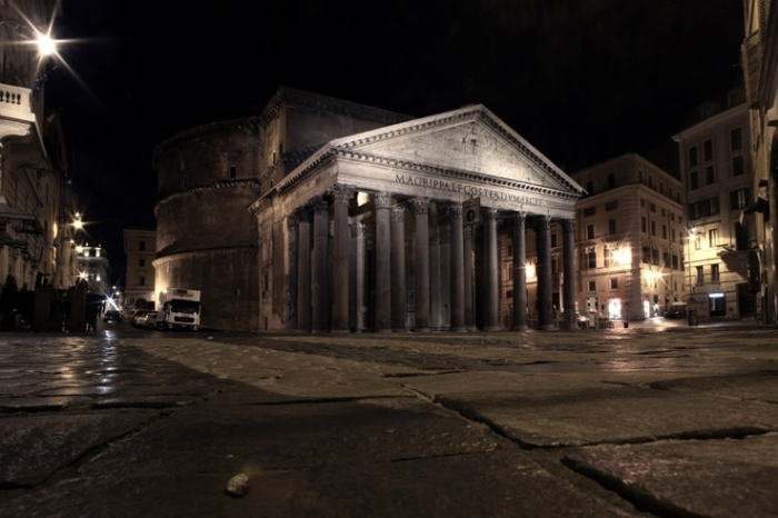 Il Pantheon, Roma Italia, rome, piazza della rotonda, photo dominique houcmant, goldo graphisme
