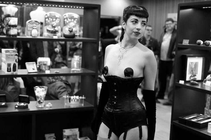 défilé sexy lingerie delicatescence love shop, mode made in Liège, © photo dominique houcmant