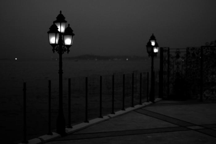 Boğaziçi, Istanbul Boğazı, Türkiye, bosphore, bosphorus, night, nuit, © photo dominique houcmant