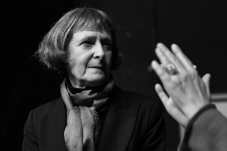 Loredana Bianconi, cinéma, Liège, festival des voix de femmes, photo dominique houcmant, goldo graphisme