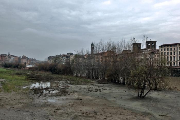 paysage, Firenze, Italia, Florence, Italie, Arno, river, Italy, fleuve, fiume, hiver, winter, © photo dominique houcmant