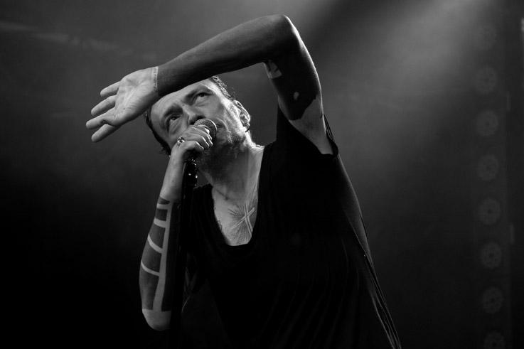 Daniel Darc, Daniel Rozoum, concert live, rock, chanson française, francofolies, spa, photo dominique houcmant, goldo graphisme