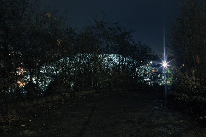 photo de nuit de la gare des guillemins, Liège, Belgique, Calatrava, night shot of a railway station, photo dominique houcmant, goldo graphisme