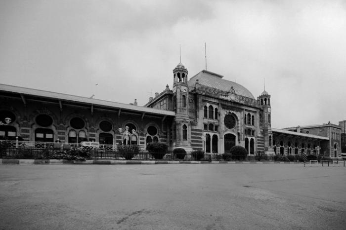 Sirkeci Garı, Müşir Hamdi Paşa, Istanbul Sirkeci Terminal, gare, station, train, orient express, Istanbul Turquie, Turkey, © photo dominique houcmant