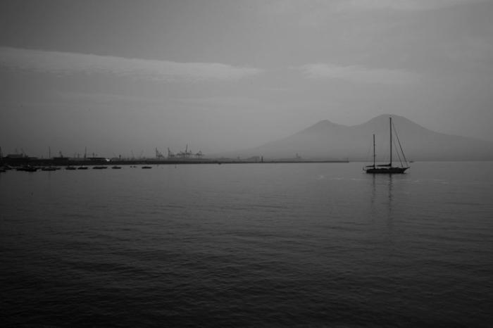 golfo di Napoli, vesuvio Italia, baie de Naples et le volcan Vésuve, Italie, bay of Naples, volcano Vesuvius, Italy, © photo dominique houcmant