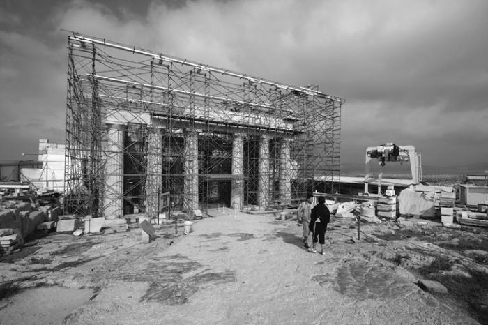 propylées acropole d'athènes, grèce, Propylaea of the Athenian Acropolis Athens Greece, Προπύλαια - Ακρόπολη Αθηνών, © photo dominique houcmant