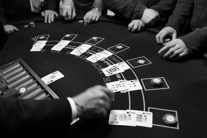 table de Blackjack, casino, jeu de carte, game, © photo dominique houcmant