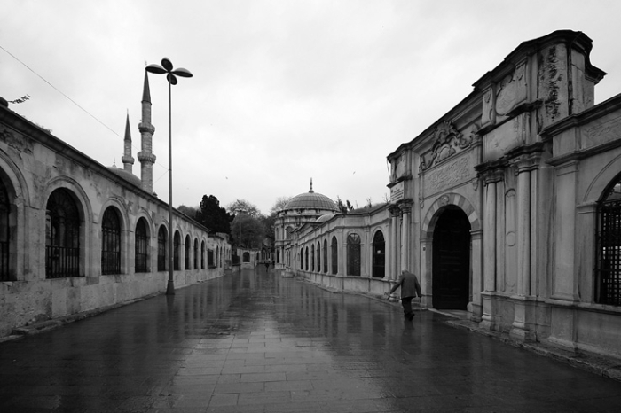 Eyüp Istanbul, turquie, Mihrişah Valide Sultan İmareti, Türbesi, photo dominique houcmant, goldo graphisme