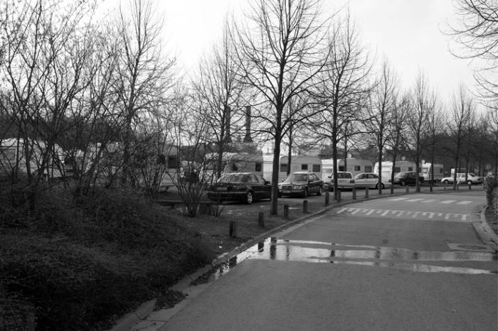 campement des gens du voyage, roms, gitans, Angleur, Liège, gypsy camp, photo dominique houcmant, goldo graphisme
