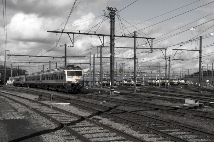 SNCB Technics - Atelier de traction de Kinkempois, Angleur, Renory, trains, locomotives, photo dominique houcmant, goldo graphisme