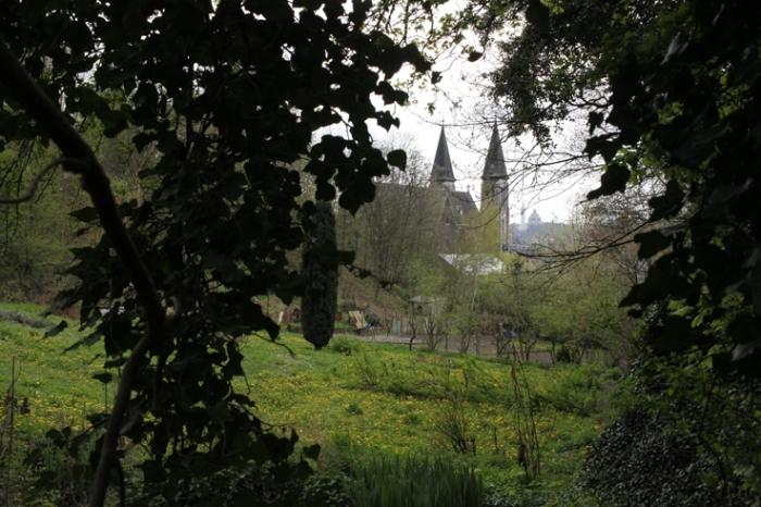 église des Oblats ou église Saint-Lambert, Grivegnée Liège, church, photo dominique houcmant, goldo graphisme